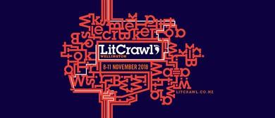 LitCrawl 2018: Bad Diaries Salon #V