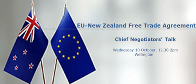 EU-NZ Free Trade Agreement - Chief Negotiators' talk