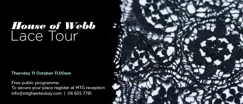 House of Webb Lace Tour