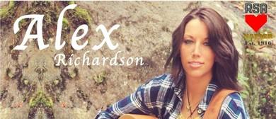 Saturday Live Music Session with Alex Richardson