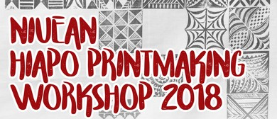 Niuean Hiapo Printmaking Workshop