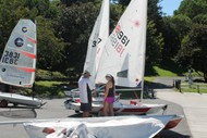 Image for event: PLSC Laser and Opti Learn to Sail Training