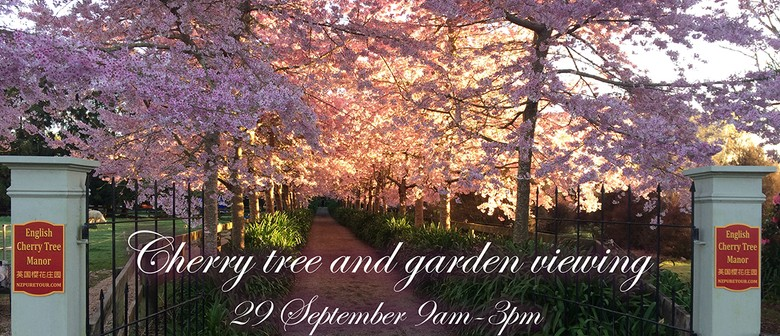 Waikato Cherry Tree and Garden Viewing Day