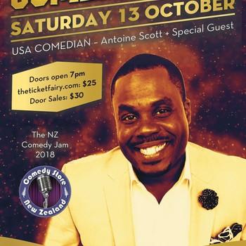 #LOOKATCHA Comedy Tour - Antoine Scott (USA): CANCELLED