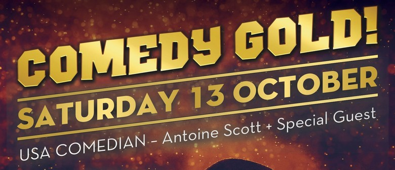#LOOKATCHA Comedy Tour - Antoine Scott (USA): CANCELLED