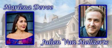 Marlena Devoe and Julien Van Mallaerts