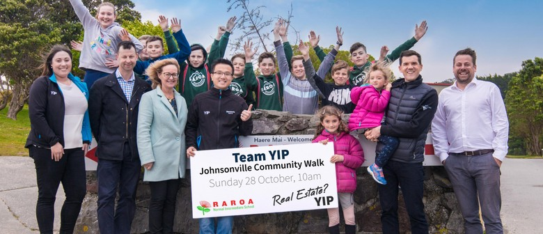 Raroa Intermediate Team YIP Johnsonville Community Walk