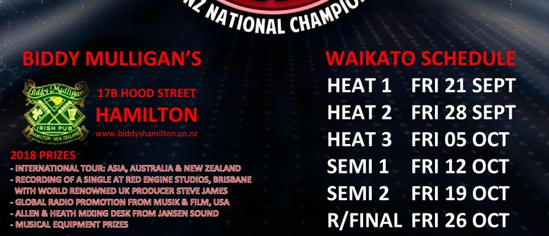 Battle of the Bands 2018 National Championship - WAI Heat 3