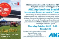 ANZ Agribusiness Breakfast
