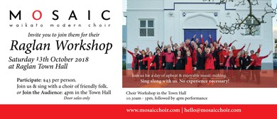 Mosaic Choir - Singing Workshop