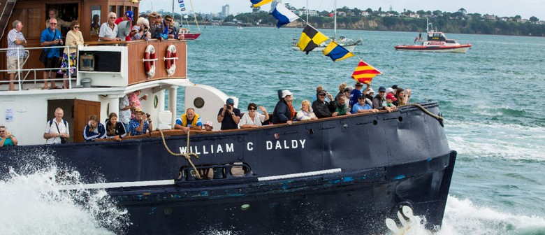 Fancy a Trip On Auckland's Historic Steam Tugboat?
