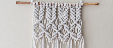 Macramé for Beginners One Day Workshop With Heather Holland