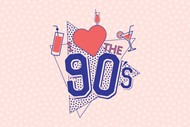 Image for event: I Love The 90's With Cocktails