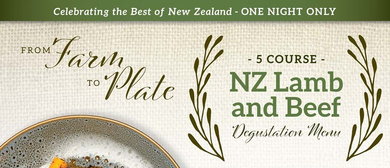 From Farm to Plate: NZ Lamb & Beef Degustation