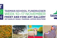 Image for event: Art Bid Win - Tasman School Fundraiser - Exhibition Week