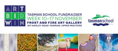 Art Bid Win - Tasman School Fundraiser - Art Auction Evening