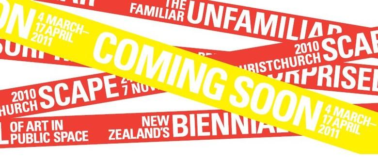 SCAPE Christchurch Biennial Rescheduled: CANCELLED
