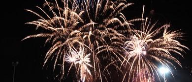 Fireworks Extravaganza and Burger King Super Saloon Series