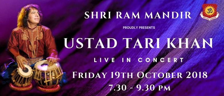 Tabla Maestro Ustad Tari Khan Live in Concert