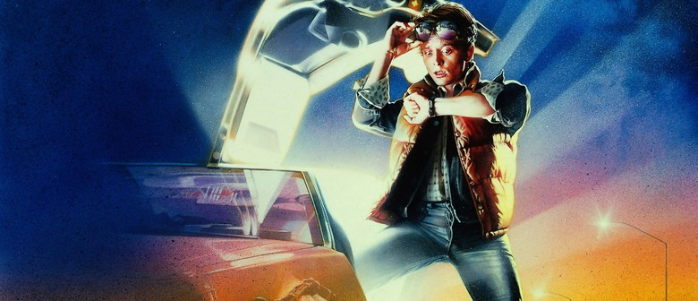 Back to The Future Outdoor Movie Night