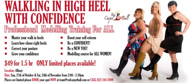 Walking in Heels with Confidence