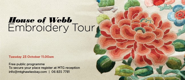 House of Webb Embroidery Tour