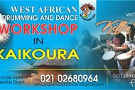 Image for event: West African Songs, Drumming and Dance Workshop
