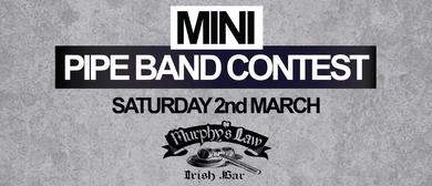 Papakura Pipe Band's Mini Pipe Band Contest