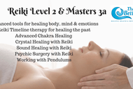 Image for event: Reiki Level 2 & Masters 3a