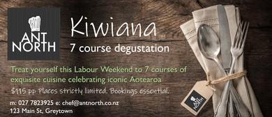 Kiwiana Degustation by Ant North