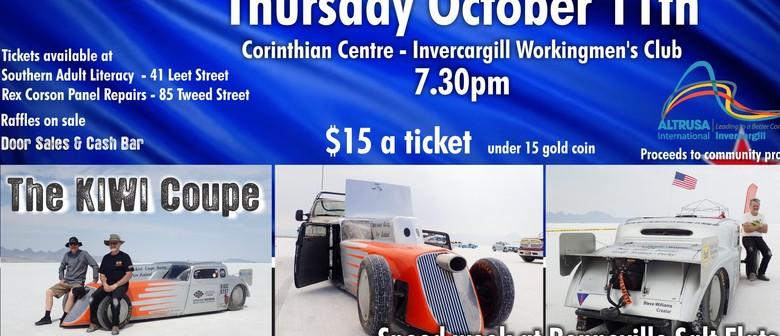The Kiwi Coupe At Bonneville