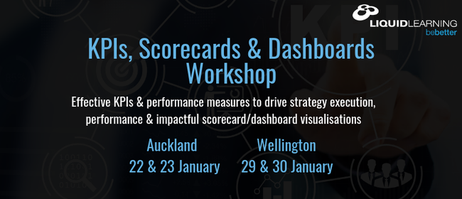 KPIs, Scorecards & Dashboards Workshop