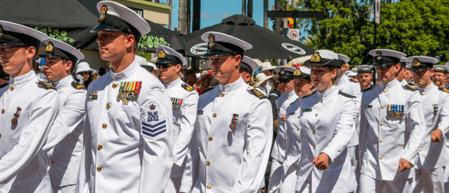 Royal New Zealand Navy Concert at the Sound Shell - ADF19