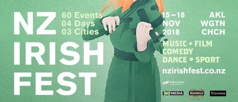 NZ Irish Fest - Trad Session & Christchurch Festival Opening
