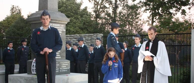 Harewood WW1 Centenary Service