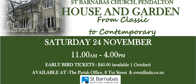 St Barnabas House and Garden Tour