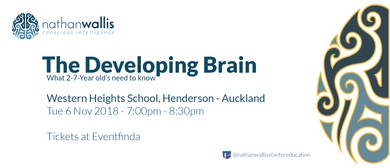 The Developing Brain - What 2-7-year Old's Need to Know: SOLD OUT