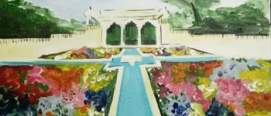 Paint and Wine Night - The Hamilton Gardens - Paintvine