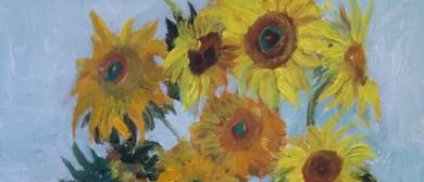 Paint and Wine Night - Sunflower - Paintvine