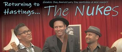 The Nukes Common Room Workshop & Mini Concert