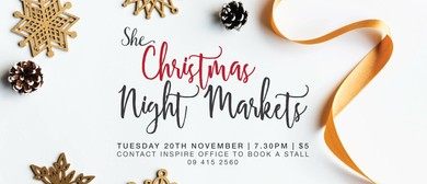 Christmas Night Markets
