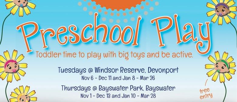 Summer Fun Preschool Play