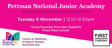 First Tuesday Concert - Pettman National Junior Academy