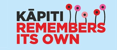 Kāpiti remembers its own - Armistice Day 2018 concert