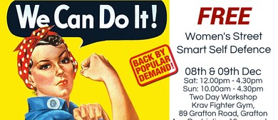 Women's Street Smart - Self Defence Workshop