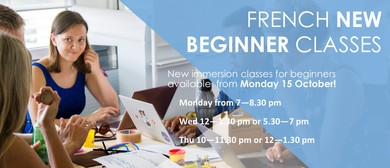 French New Beginners Class