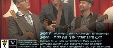 The Nukes Taupo Workshop & Mini Concert