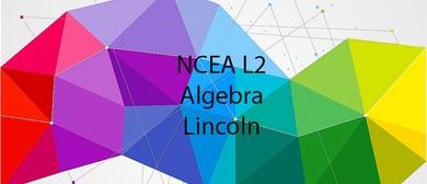 NCEA L2 Algebra