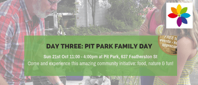 Mini EnviroFest Day Three: Pit Park Family Day