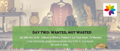 Mini EnviroFest Day Two: Wanted, Not Wasted